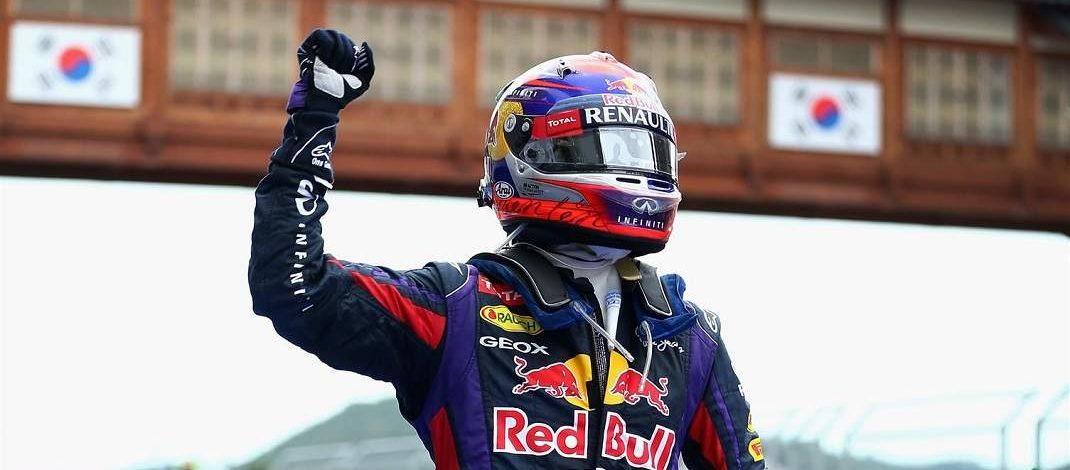 Foto de GP da Coreia do Sul – 2013 – Vettel vence na última vez da pista – Dia 138 dos 365 dias dos mais importantes da história do automobilismo