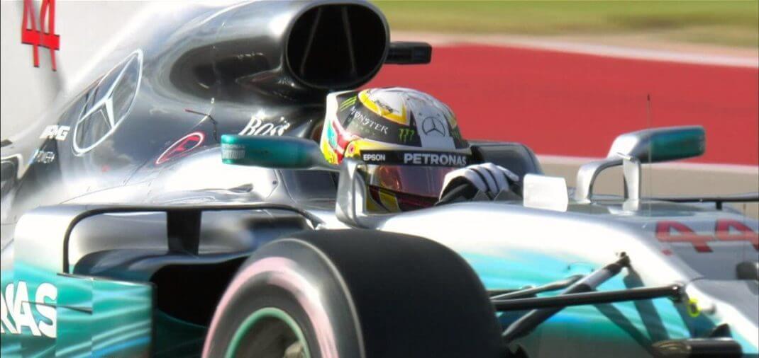 Foto de Classificação EUA – Hamilton conquista mais uma pole, mas vai dividir a primeira fila com Sebastian Vettel