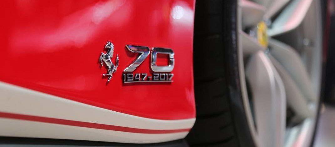 Foto de Desfile de Ferraris em São Paulo, será realizado no mesmo final de semana do Grande Prêmio do Brasil