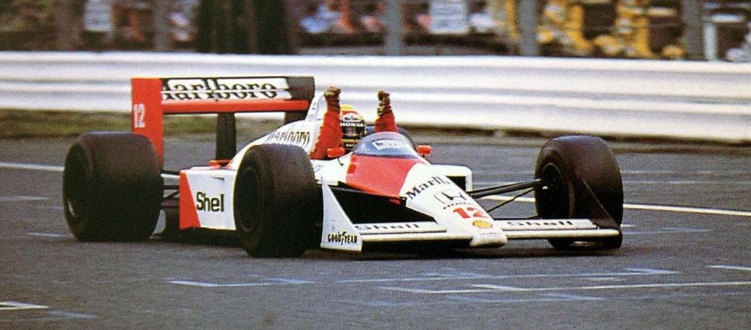 Photo of Ayrton Senna vence em Suzuka e conquista o seu primeiro título