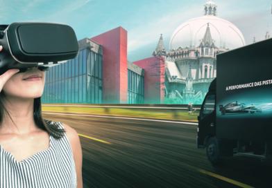 Simulador da Mercedes está em São Paulo para atitude promocional