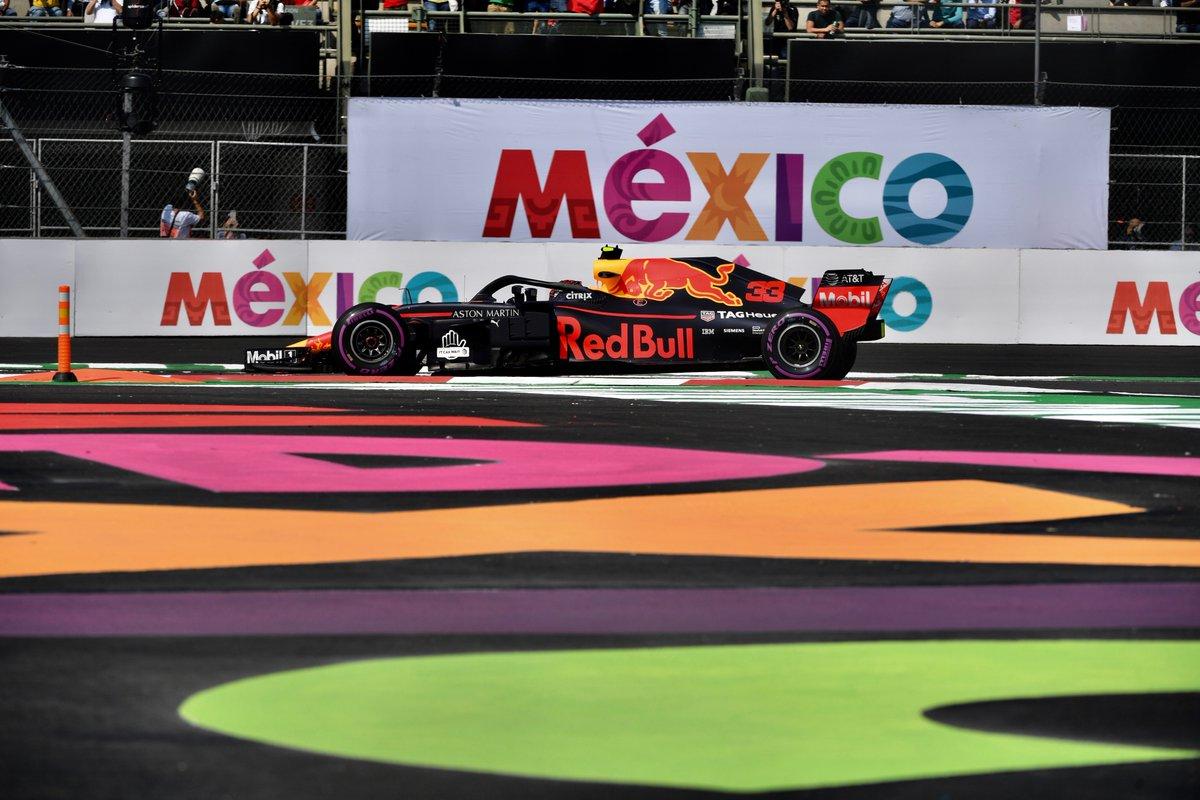 Foto de TL3 México – Voando baixo, Verstappen lidera sessão e Vettel fica em terceiro