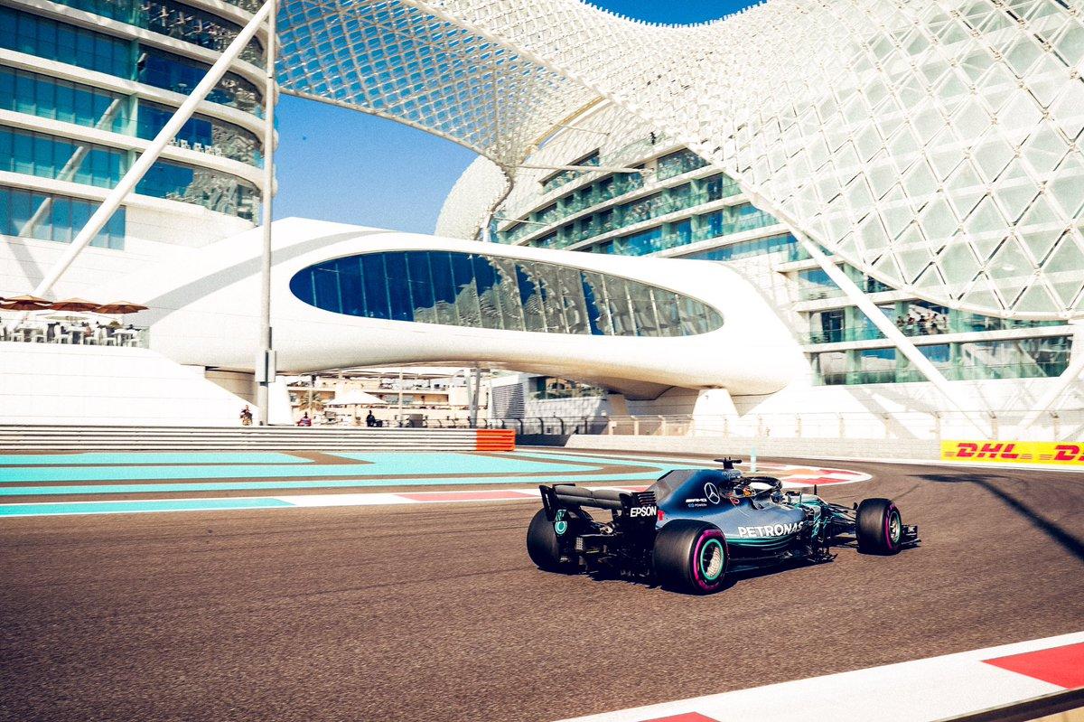 Foto de TL3 Abu Dhabi – Hamilton garante liderança de último treino antes da Classificação
