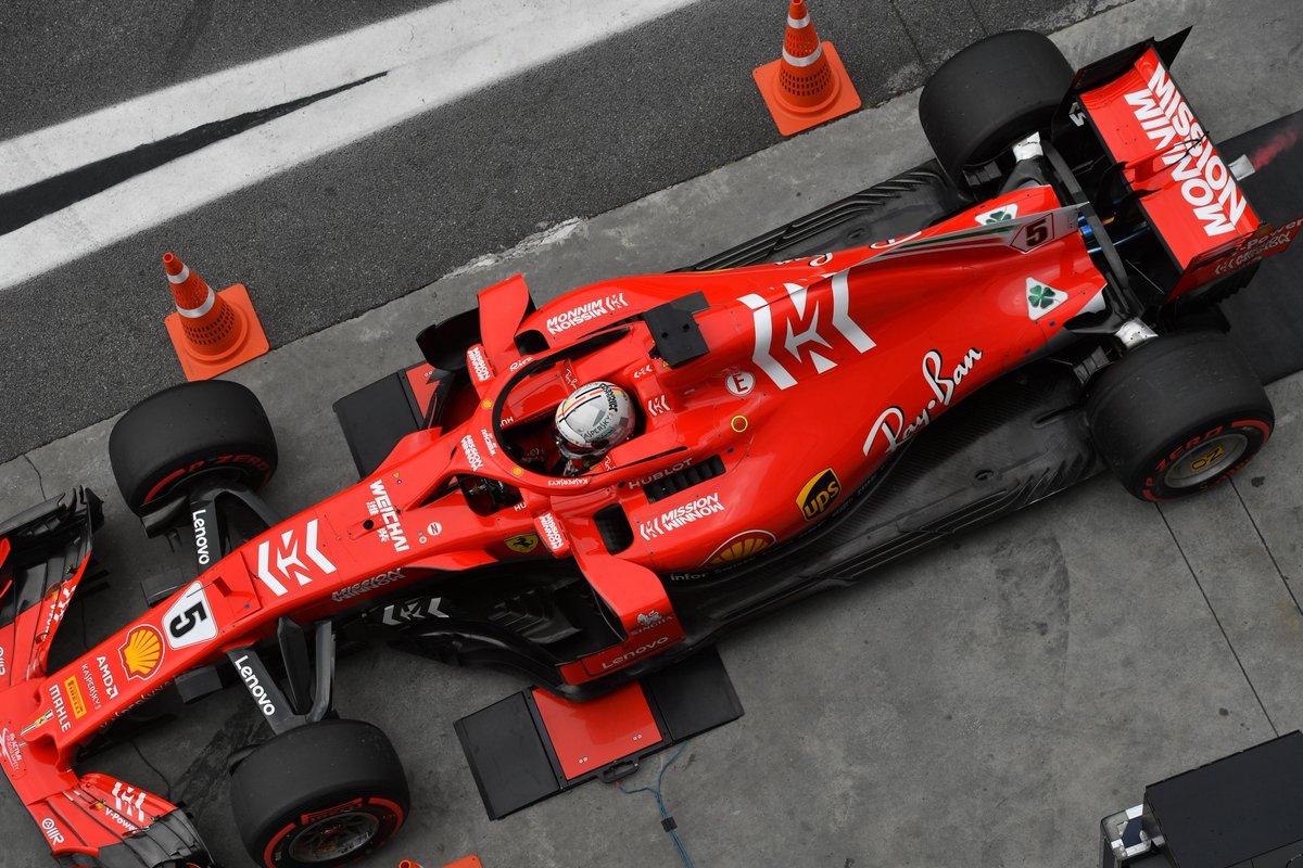 Photo of Sebastian Vettel recebe multa, por ter causado incidente no Q2 com balança da FIA