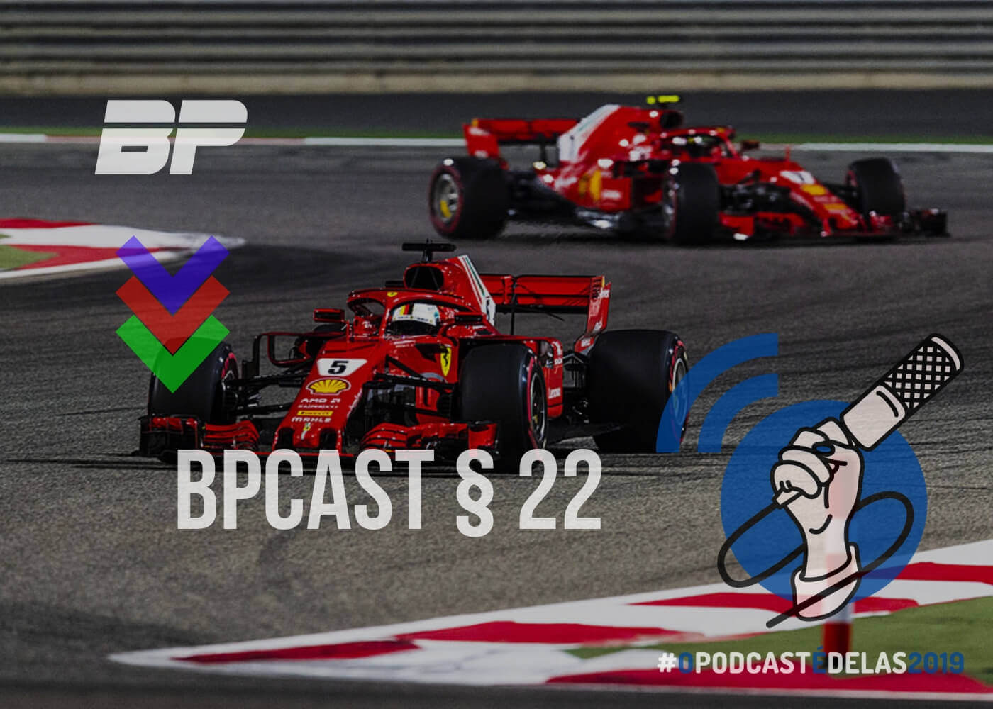 Foto de BPCast § 22 | Preview GP do Bahrein de 2019 – #OPODCASTÉDELAS2019
