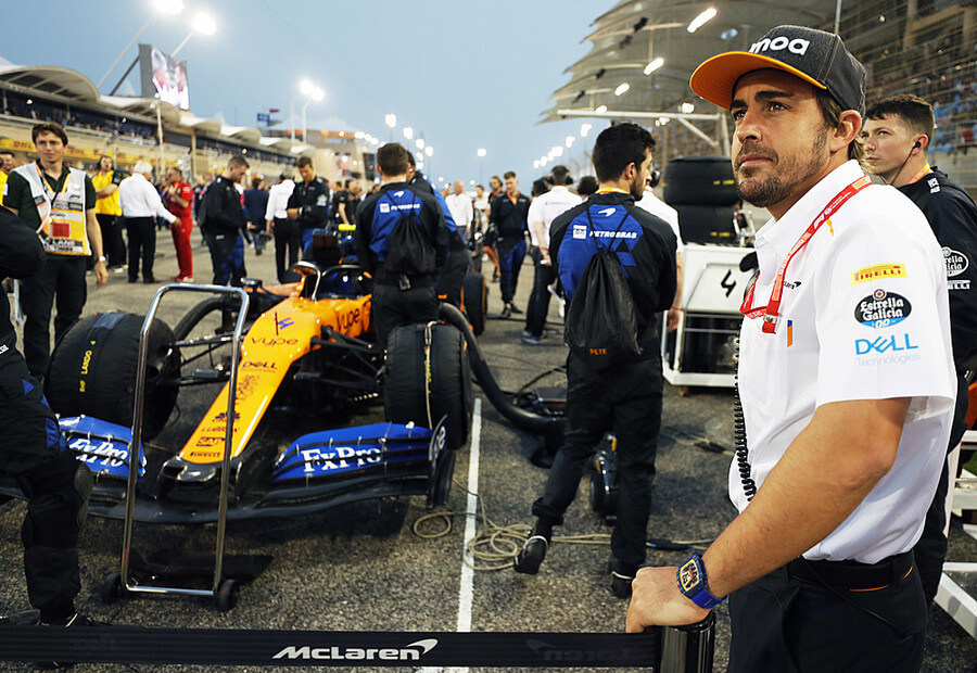 Photo of Fernando Alonso retorna para os testes do Bahrein