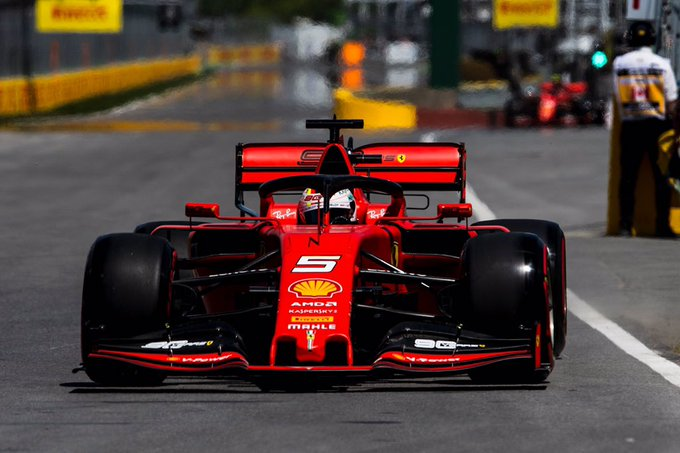 Foto de Classificação Canadá – Vettel confirma boa performance e crava primeira pole da temporada