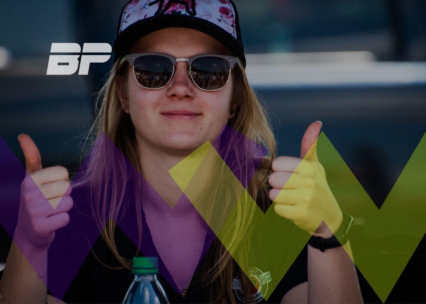 Foto de Bruna Tomaselli foi selecionada para segunda temporada da W Series