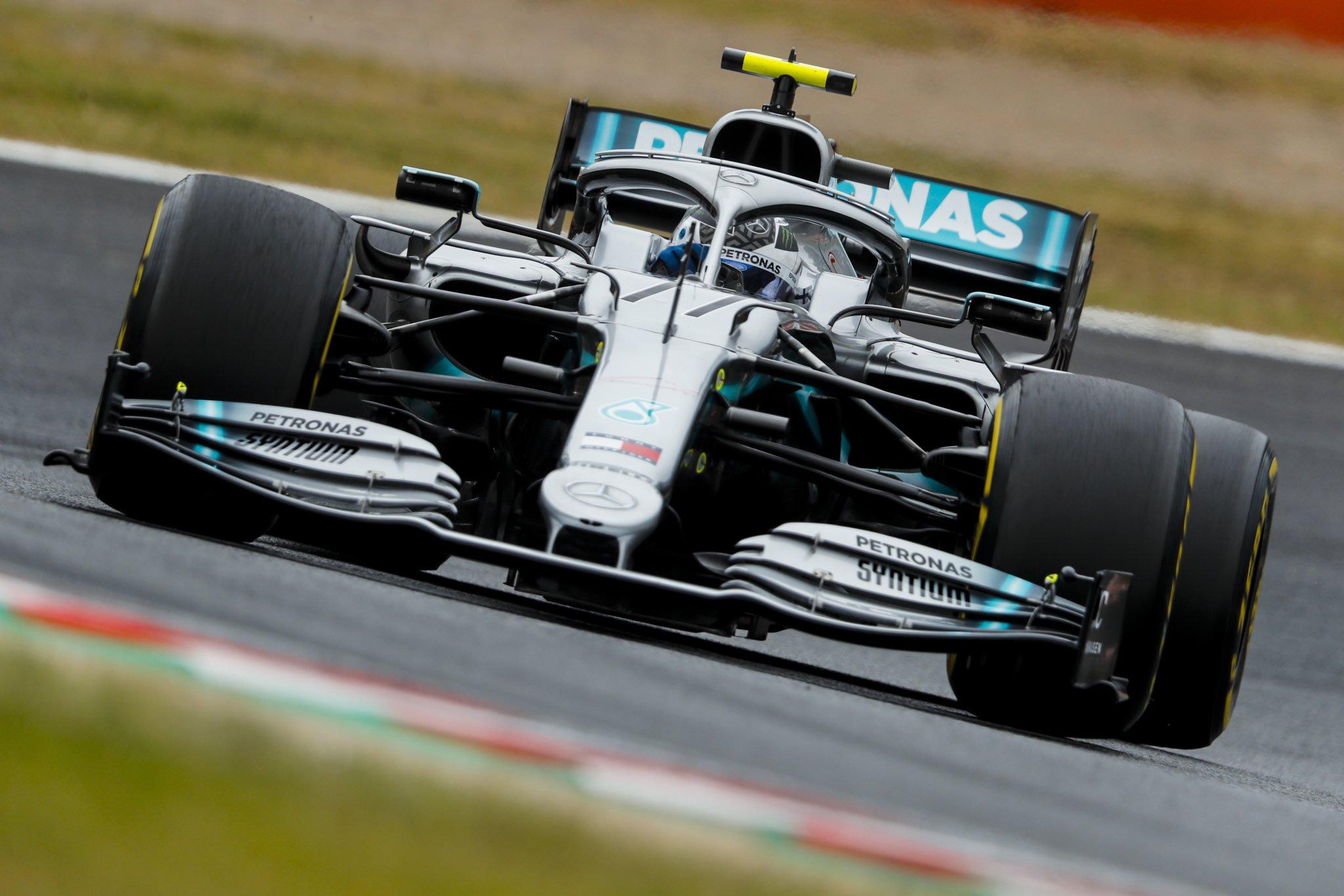 Foto de TL2 Suzuka – Com ameaça iminente para classificação, Bottas garante liderança ao superar Hamilton por 0s1