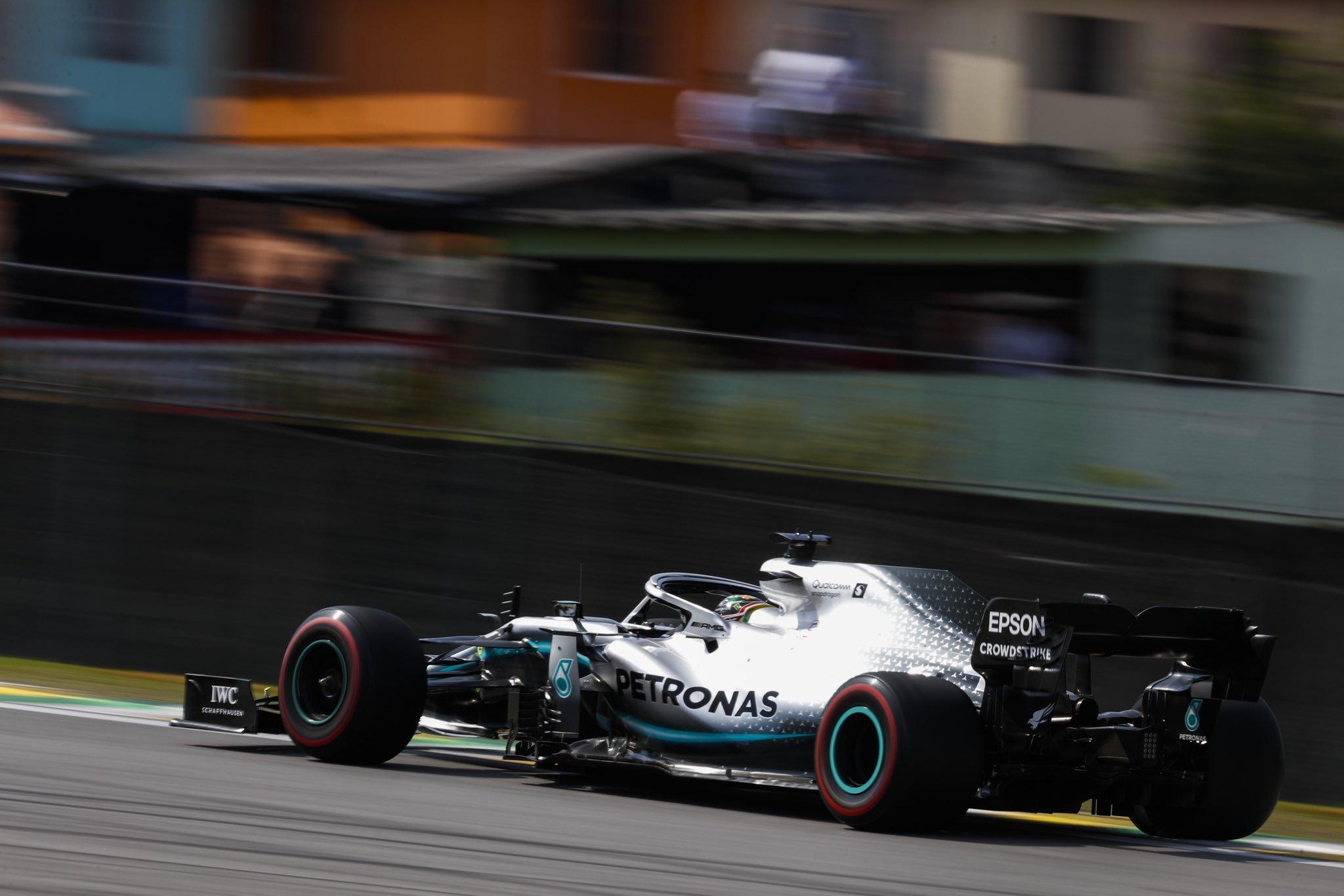 Foto de TL3 Brasil – Hamilton supera Verstappen e aumenta expectativas para a classificação