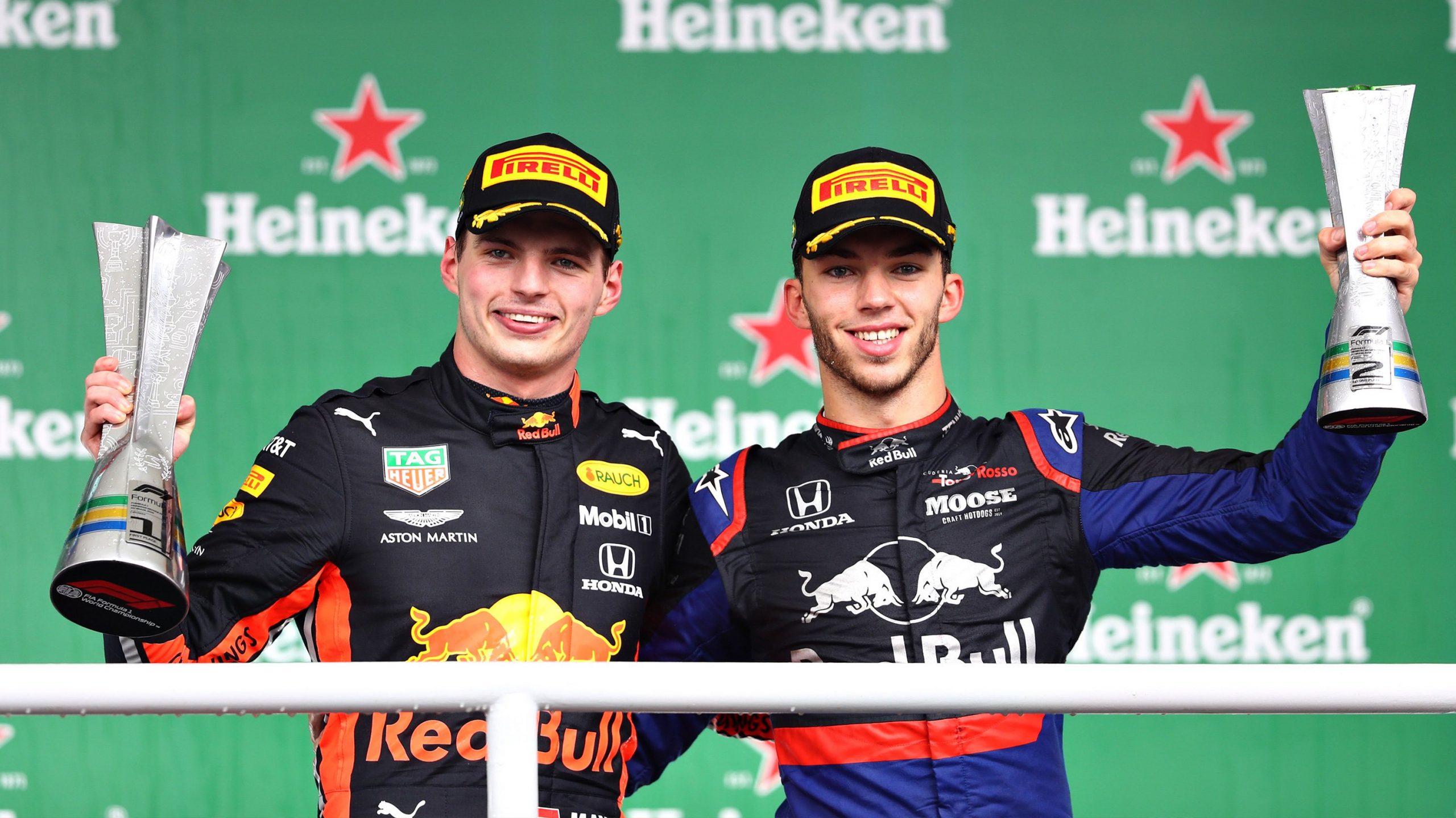 Foto de GP do Brasil – Max Verstappen venceu corrida movimentada, com Pierre Gasly na segunda posição