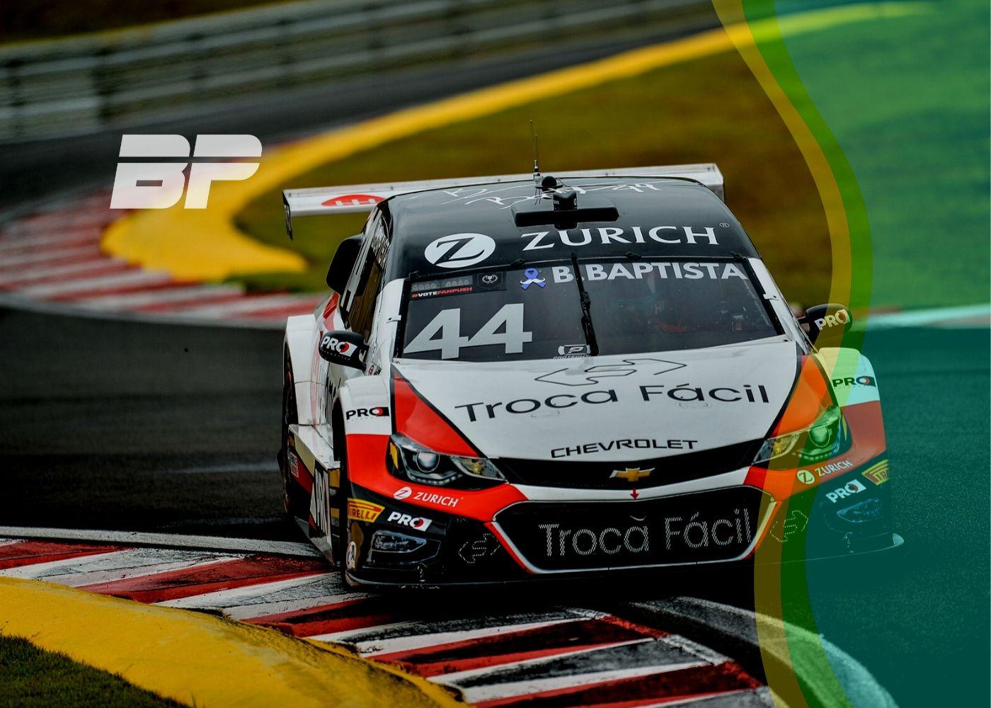 Foto de Bruno Baptista surpreende e alcança primeira vitória no Autódromo Velo Città, com Nunes e Serra no pódio