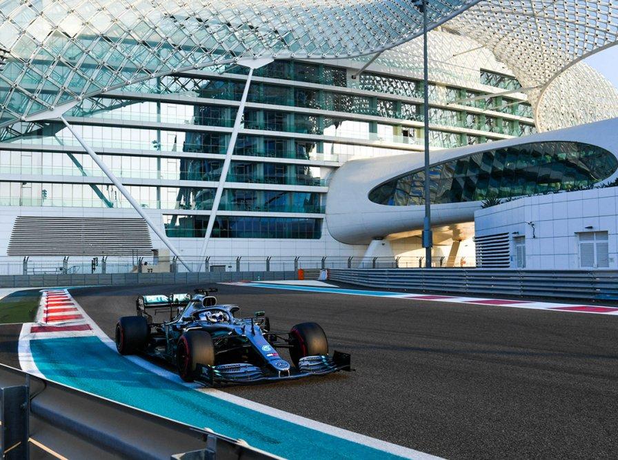 Foto de Valtteri Bottas liderou o primeiro dia de testes dos pneus da Fórmula 1 para 2020