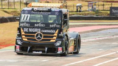 Foto de Valdeno Brito domina o domingo na Copa Truck