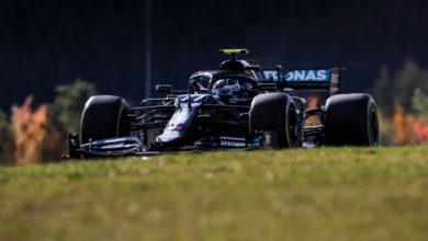 Foto de Classificação: Bottas supera Hamilton e Verstappen, para cravar a pole em Nürburgring