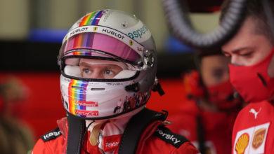 """Foto de """"Juntos como um"""", o capacete de Sebastian Vettel para o GP da Turquia"""