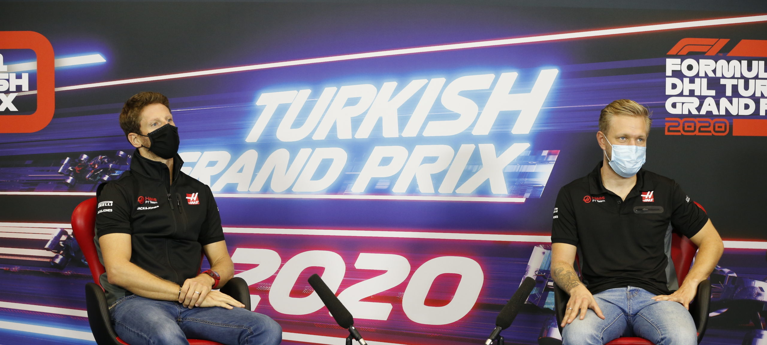Foto de Grosjean e Magnussen estão conversando com equipes da Indy para a temporada de 2021