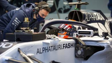 Foto de Yuki Tsunoda realizou um teste em Ímola e o piloto se surpreendeu com o carro de F1