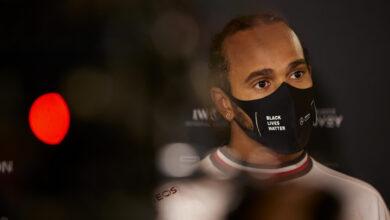 Foto de A dupla de pilotos da Mercedes mostra preocupação com o equilíbrio do carro no Bahrein