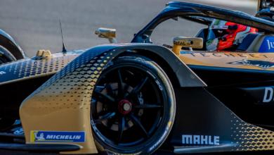 Foto de Preta e dourada, Techeetah apresenta o novo-antigo carro