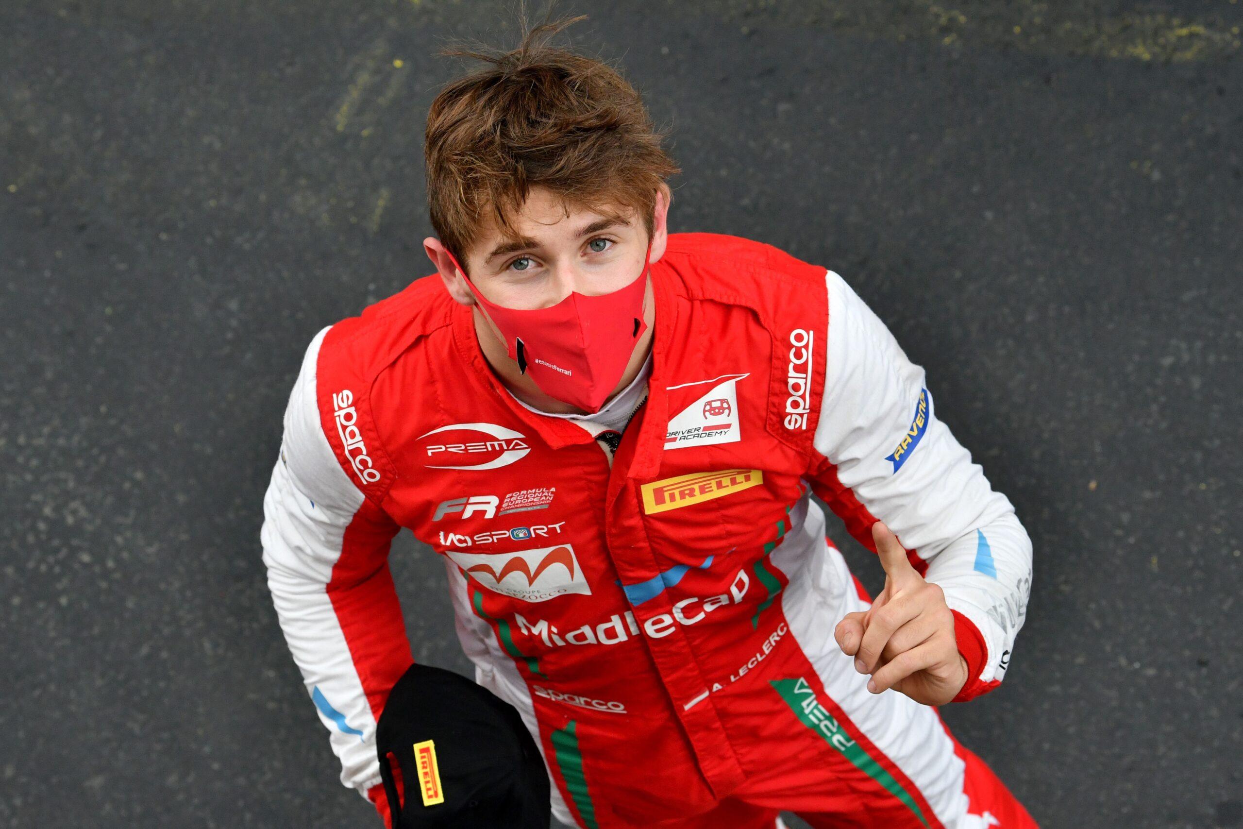 Foto de Vice-campeão da Fórmula Regional, Arthur Leclerc segue disputando com a Prema na F3