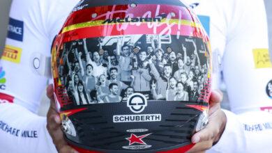 Foto de Os capacetes, as despedidas e as homenagens em Abu Dhabi
