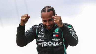 Foto de Sir Lewis Hamilton, heptacampeão de F1 receberá título de Cavaleiro do Império Britânico