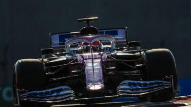 Foto de Grid atualizado após punições de Leclerc, Pérez e Magnussen