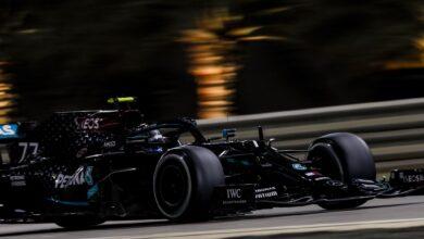 Foto de Mercedes domina a ponta em Sakhir com pole de Bottas e Russell na segunda posição
