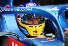Foto de Fernando Alonso passa por troca completa do motor e vai largar do fim do grid no domingo